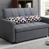 ספה דו מושבית נפתחת למיטה זוגית דגם DALLAS-GRAY