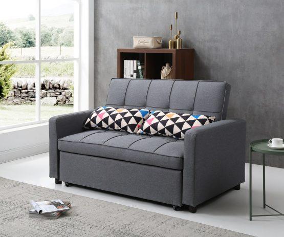 Двухместный диван кровать модель DALLAS-GRAY