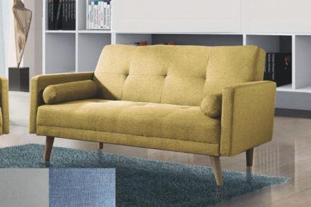 ספה דו מושבית דגם NIKA-2 בד ירוק