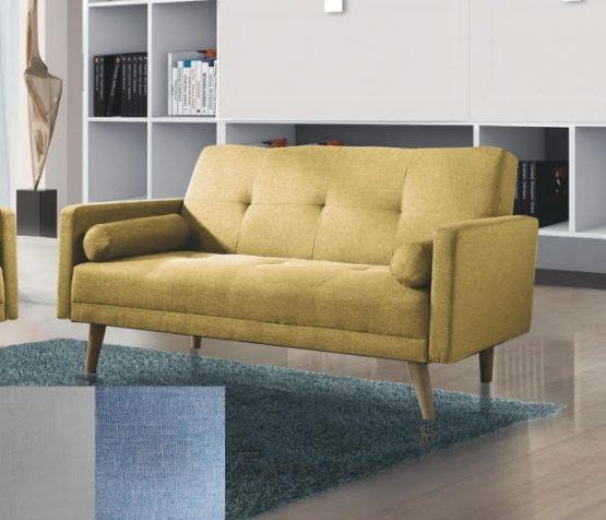 Небольшой двухместный диванчик модель NIKA-2 зеленого цвета