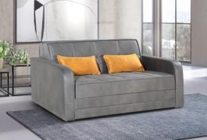ספה דו מושבית דגם ALPEN-GRAY נפתחת למיטה זוגית