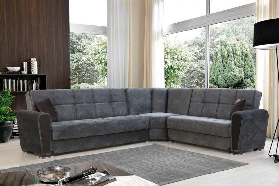 Большой угловой диван OSCAR