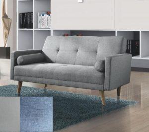 ספה דו מושבית דגם NIKA-2 בד אפור