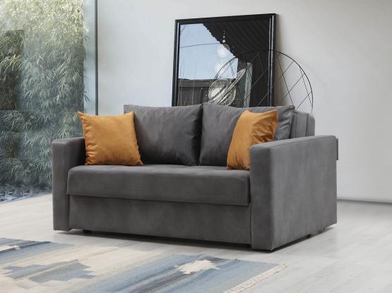 ספה דו מושבית נפתחת למיטה זוגית דגם SHARON