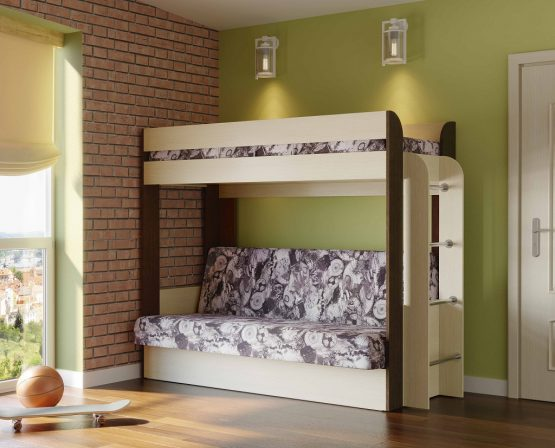 מיטת קומותיים מיוחדת GRETA