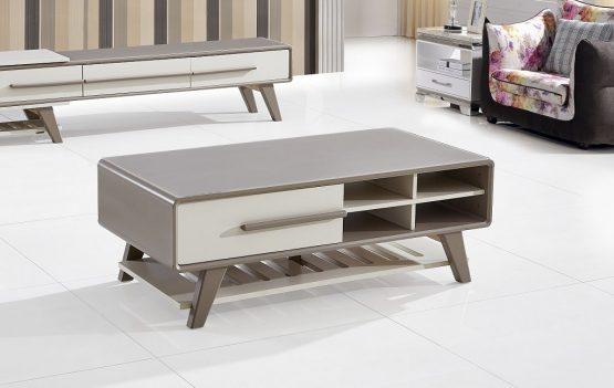 שולחן סלון מודרני מעץ דגם 34