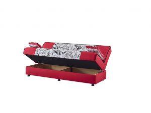 ספת אירוח עם ארגז מצעים דגם RED CITY