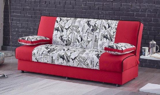 Стильный диван-кровать модель RED CITY