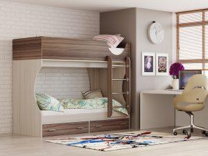 מיטה קומותיים לילדים דגם TOM