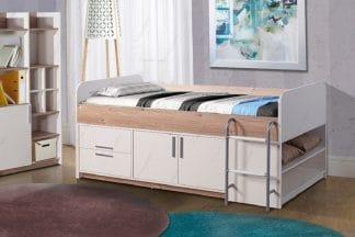 מיטת ילדים עם אחסון דגם YANA