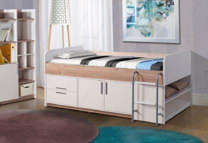 Детская кровать с лестницей YANA
