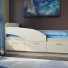 מיטת ילדים עם מעקה דגם YANA