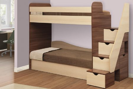 מיטת קומותיים כולל מזרונים דגם ALON