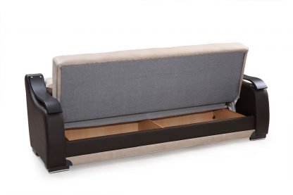 ספה מפוארת נפתחת דגם BELLA צבע בז'