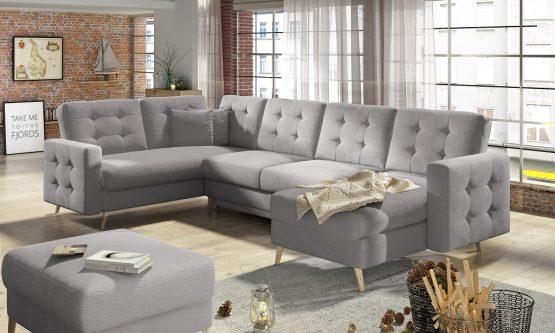 Большой угловой диван модель GRAND