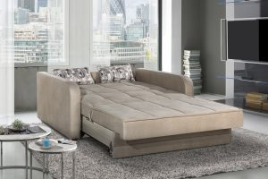 ספה דו מושבית נפתחת למיטה זוגית דגם ALPEN בזי