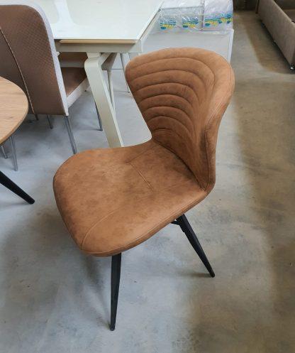 כיסא לפינת אוכל בצבע קאמל דגם 185