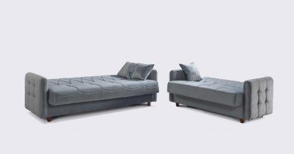 ספות 3+2 מעוצבות לסלון דגם DAFNA