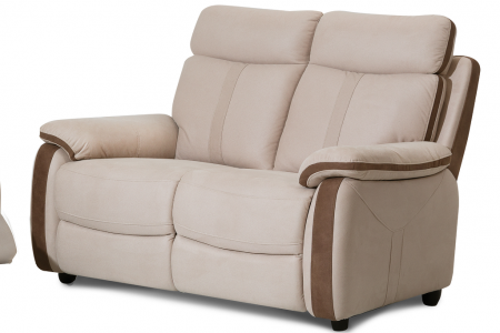 ספה דו מושבית עם ריקליינרים דגם GREMY
