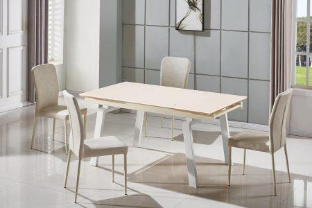 שולחן אוכל זכוכית דגם 164