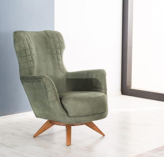 Стильное кресло для гостиной модель BOLERO