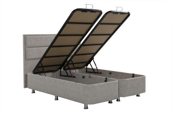 מיטה זוגית איכותית עם אחסון דגם OSTIN