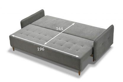 ספה נפתחת למיטה זוגית דגם RONDO