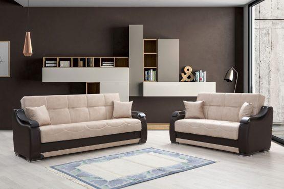 Комплект раскладных диванов 3+2 модель BELLA
