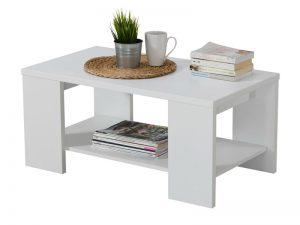 שולחן סלון קומפקטי דגם 904 עץ לבן
