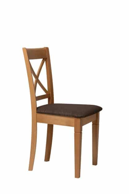 כסא אוכל מעץ מלא דגם 738