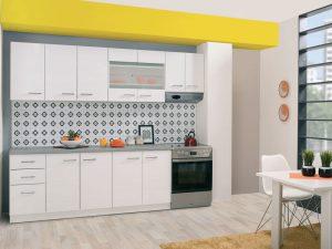 מטבח לבן מעוצב DIVA