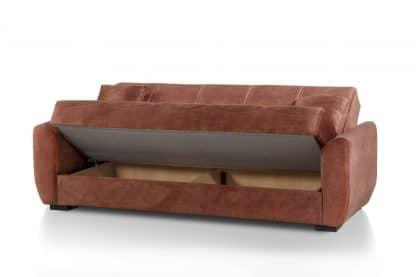 ספה נפתחת צבע קאמל דגם CAPRIZ