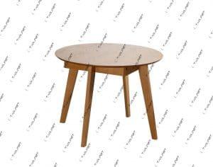 Круглый деревянный стол MORIS-1