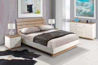 מיטה זוגית 160/200 מעוצבת דגם KOSMO