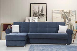 ספה פינתית עם ארגזי מצעים TALIN-3