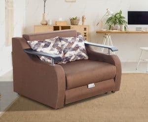 Кресло-кровать с ящиком для белья COSMO-1