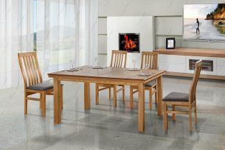 Обеденный стол с 4 стульями ORION-33