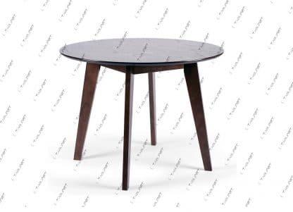 שולחן אוכל עגול נפתח MORIS-2