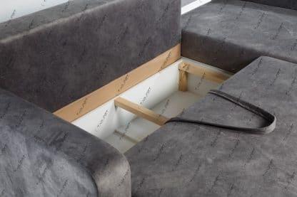 ספה פינתית נפתחת למיטה זוגית ARGO
