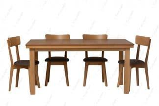 Раскладной обеденный стол со стульями модель ORION-12