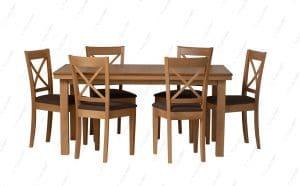 Обеденный стол и 6 стульев ORION-38