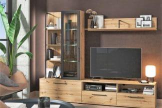 מזנון לסלון מעץ דגם HOLLY