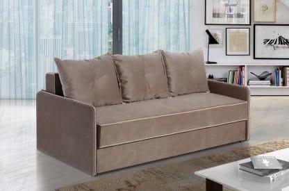 ספה נפתחת למיטה זוגית דגם LAZIO