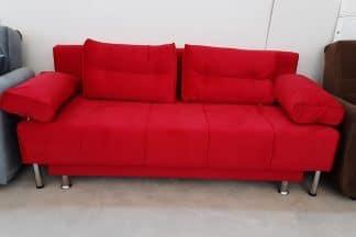 Двуспальный диван модель PUMA-red