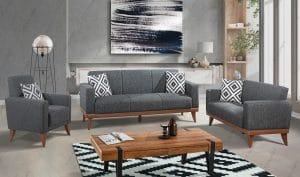 Комплект диванов 3+2+1 для гостиной модель TRIANA