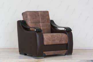 Удобное кресло для дома модель BELLA-BROWN