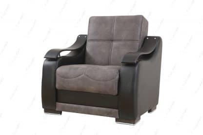 Красивое кресло для дома модель BELLA-GRAY